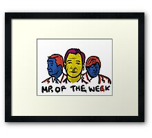 MPs Of The Weak Framed Print