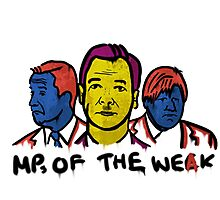 MPs Of The Weak Photographic Print