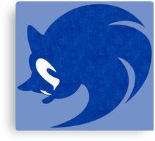-GEEK- Sonic Face Canvas Print