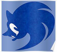 -GEEK- Sonic Face Poster