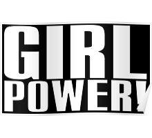 Girl Power (White) Poster