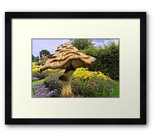 English Giant Toadstool Framed Print