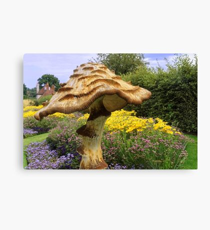 English Giant Toadstool Canvas Print