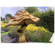 English Giant Toadstool Poster