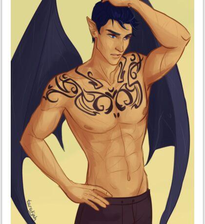 Rhysand Tattoos Sticker
