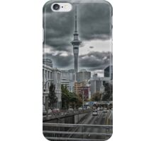 Sky Tower and the city  iPhone Case/Skin