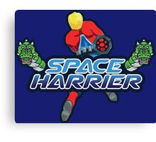 SPACE HARRIER CLASSIC ARCADE GAME Canvas Print