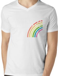 You Can Pee Next To Me T-shirt Mens V-Neck T-Shirt