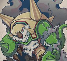 Chesnaught Like a Boss by jellyahoy