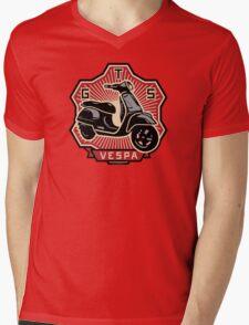Vespa GTS Mens V-Neck T-Shirt