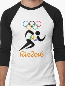 Olympic Rio 2016 Men's Baseball ¾ T-Shirt