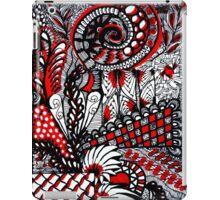 RED MONOCHROME iPad Case/Skin