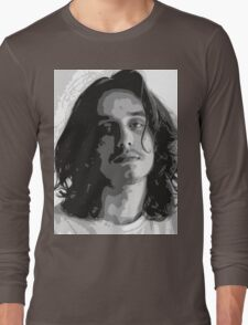 Pouya - Black & White Long Sleeve T-Shirt