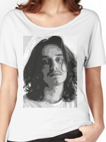 Pouya - Black & White Women's Relaxed Fit T-Shirt