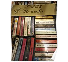 Tapes $1.00 Poster
