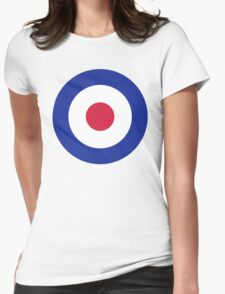 Mod Target  Womens Fitted T-Shirt