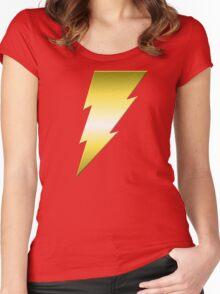 Golden Thunderbolt Women's Fitted Scoop T-Shirt