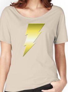 Golden Thunderbolt Women's Relaxed Fit T-Shirt