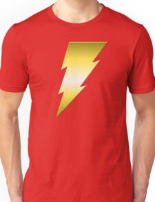 Golden Thunderbolt Unisex T-Shirt