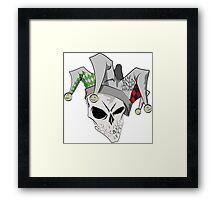 Joker Jester Framed Print