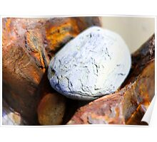 Rocks and Rust Poster