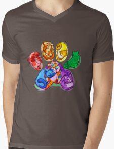 Rainbow Beans! Mens V-Neck T-Shirt