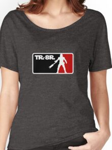 Loyal Trooper TR-8R Logo Women's Relaxed Fit T-Shirt