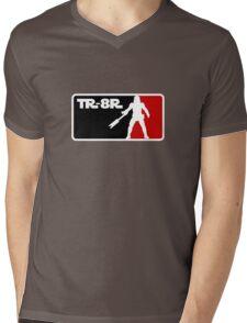Loyal Trooper TR-8R Logo Mens V-Neck T-Shirt
