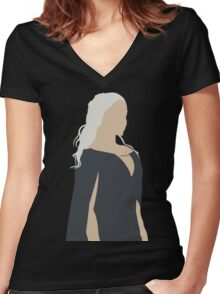 My reign has just Begun. Women's Fitted V-Neck T-Shirt