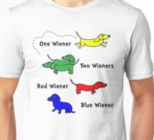 Only for Wiener Dog Lovers.! Unisex T-Shirt