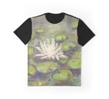 Balboa Water Lilies (pastel) Graphic T-Shirt