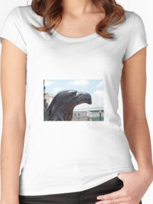 Washington DC Bird Women's Fitted Scoop T-Shirt