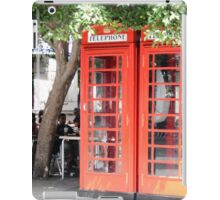 Red Telephone Boxes iPad Case/Skin