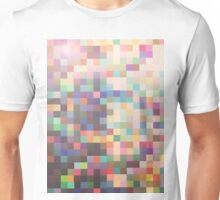 Pattern 039 Rainbow Multicolor Faded Unisex T-Shirt