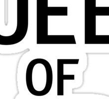 Queen of naps Sticker