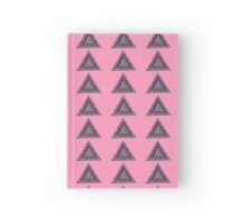 Triangle - Light Pink Hardcover Journal