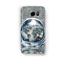 astronaut world map 2 Samsung Galaxy Case/Skin