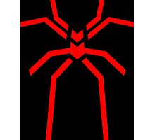 Stealth Spider Red Photographic Print