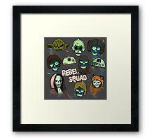Rebel Squad Framed Print