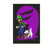 Luigi Pup Art Print