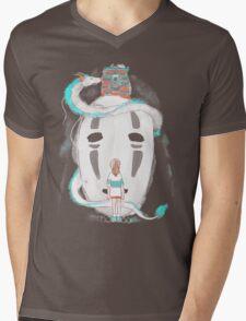 River Spirit Mens V-Neck T-Shirt