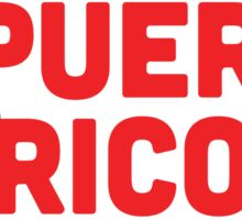 Hashtag Puerto Rico (A) Sticker