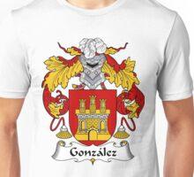 Gonzalez Coat of Arms/Family Crest Unisex T-Shirt