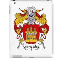 Gonzalez Coat of Arms/Family Crest iPad Case/Skin