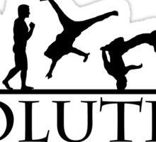 Bboying Evolution Sticker