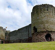 Rhuddlan Castle  by hootonles