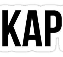 go kappa kappa gamma kkg Sticker