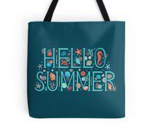 Hello summer midnight Tote Bag