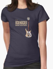 Enjoy Rickenbacker Bass Guitars Womens Fitted T-Shirt