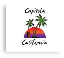 Capitola California Canvas Print